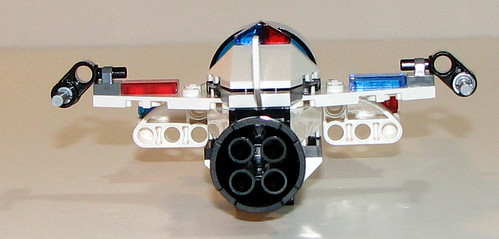 LEGO Space Police 5981 - Raid VPR - Completed - 4