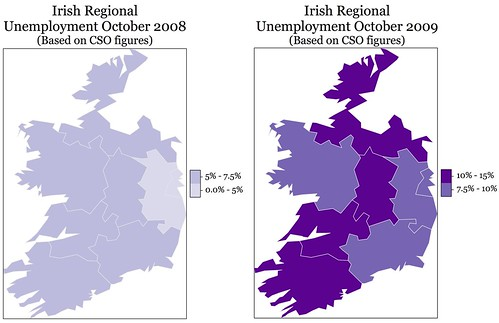 IrishUnemploymentOct08toOct09