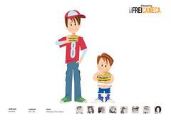 garotos (eduardowestin) Tags: menino lanche caneca vetor frei irmos shooping comendo sanduiche
