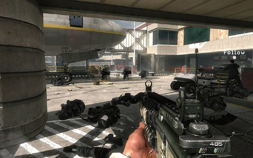 MW2 MOSCOW BLOOD BATH