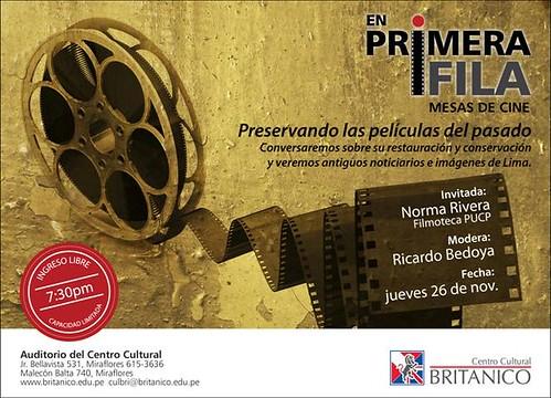 En primera fila: Rescate de filmes peruanos