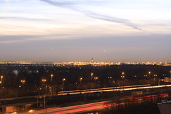 Schiphol Airport 001 (Bart.Altena) Tags: amsterdambynight seenfromibmbuilding