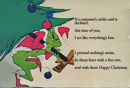 Free Christmas Trees - Postsecret