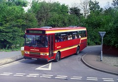 A different type of Dennis. (Renown) Tags: buses derwent norfolk dennis sheringham coaches javelin plaxton easterncounties ecoc singledecker privatised derwentii h620rah