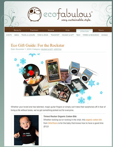 Eco Gift Guide: For the Rockstar!