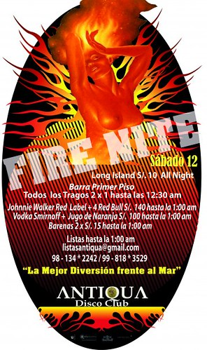 Fire Nite - Antiqua Disco Club