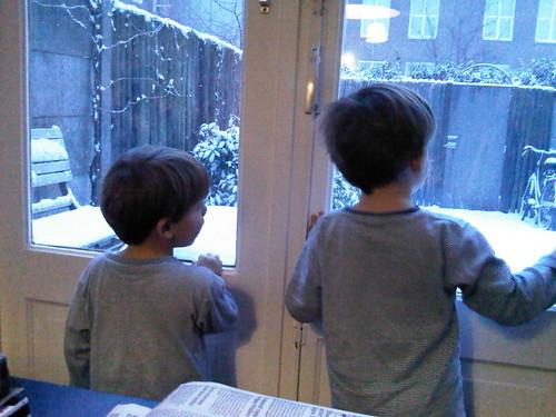 Sneeeeuw!!