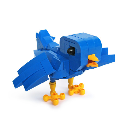 LEGO Ollie the Twitter Bird