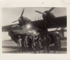 Iwo Jima - pby called dumbo (bunnygoth) Tags: japan plane army war antique air wwii dumbo corps soldiers iwo jima pby johnanderson