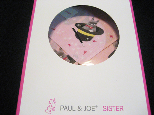 a Handkerchief and a Bag Charm PAUL&JOE SISTER