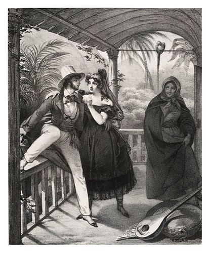 013- Vestimentas de Rio Janeiro- Maurin Nicolas Eustache- Viagem pitoresca através do Brasil 1835