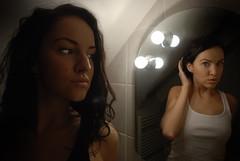 self - hana|anah (Hana Makovcova) Tags: selfportrait photoshop bathroom mirror saiha hanamakovcova