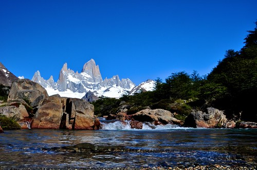 A Babbling Patagonia Brook