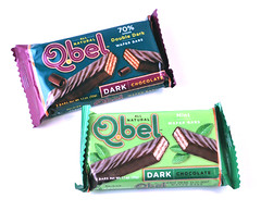 Q.bel Dark and Mint Bars