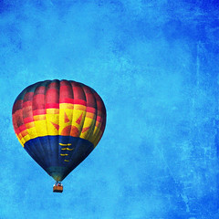 the winds have welcomed you with softness, the sun has greeted you with warm hands ({she tells stories}) Tags: sun texture quote ballonn bluesky wa pictureaday day167 snohomish hotairballon lefigaro 167365 p365167 skeletalmess theballoonistsprayer