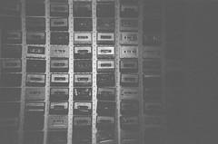 analog x analog (Nai.) Tags: ilfordhp5plus400 disposablecamera analog blackandwhite filmphotography grainy cassette tapes music vintage retro
