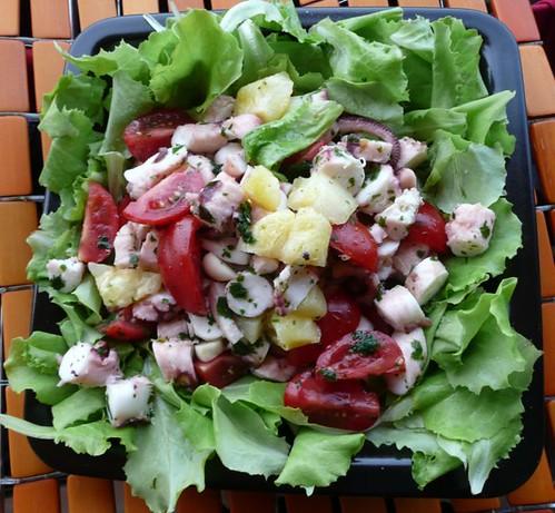 insalat pomodorini patate polpo 2