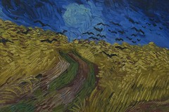 """Wheatfield with Crows, Vincent van Gogh ..."