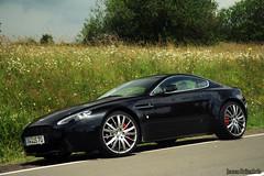 Aston Martin V8 Vantage [Explored] (Jeroen Buitenhuis) Tags: 2 6 june race canon germany eos is am jeroen track martin wheels july ring explore 17 parked 28 371 rims tuning rs 85 2009 ef v8 aston vantage v12 1899 nurburg loder explored buitenhuis 400d nurbrugring