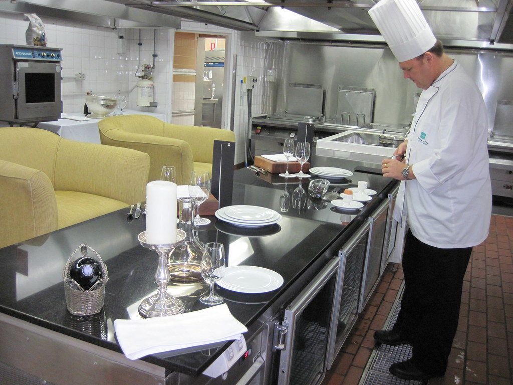 At the Chef's Bench