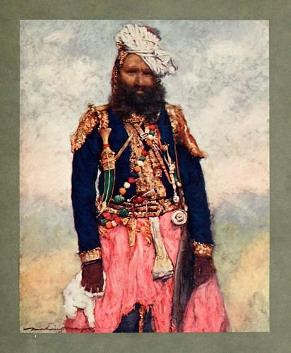 001- Un criado de Rajgarh-The people of India 1910