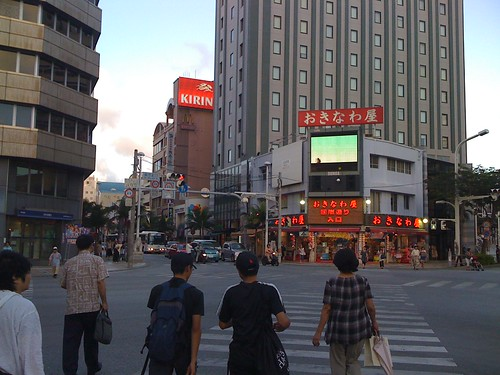 entrance of Kokuzai dori St.