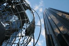 Trump International Hotel New York (Sazzyb80) Tags: nyc sky newyork building tower metal skyscraper globe structure trumpinternationalhotel