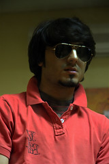 | I Am My Own Worst Enemy .! (M20`) Tags: bear red pull ray ban m20