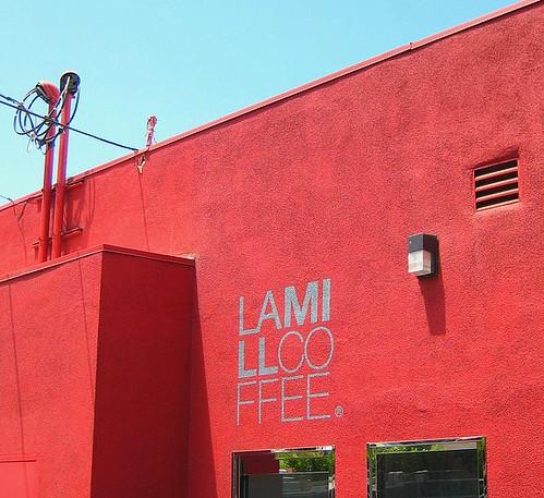 Lamill signage