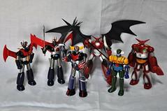 Dynamic Super Robots (Giovanni V.) Tags: robot grande great z takara shin bandai aoshima goldrake grendizer mazinger getter jeeg mazinga getter1