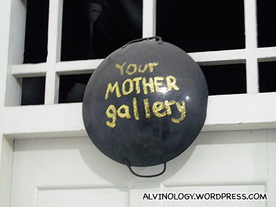 I wasnt lying about the gallerys name