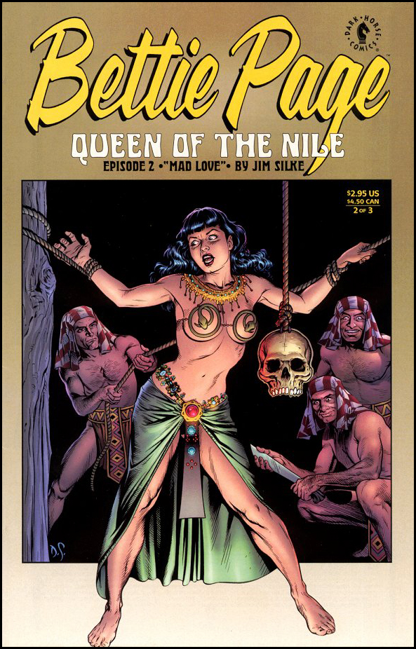 Bettie Page - Queen of the Nile #2
