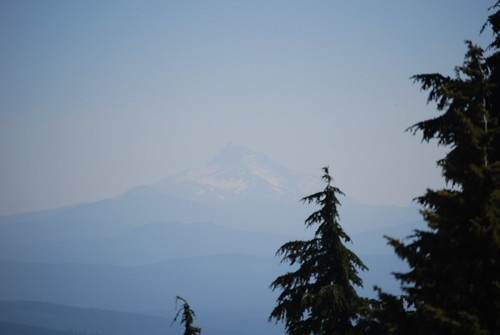 Mt. Jefferson from Timberline Lodge