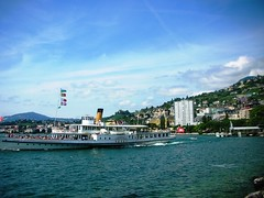 Montreux by Lake Geneva in Switzerland #3