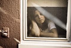 320 (bex finch) Tags: portrait house window self 35mm garden outside screen tribute 365 f4 iso250 nikond80