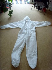 Paper overalls - the template for the costume