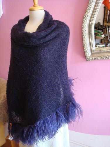 Ostrich Shawl - For Sale!