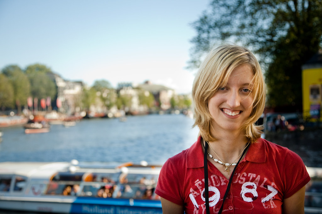 me in Amsterdam!