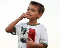 IMG_4296 (TAdamczuk) Tags: boy gum soccer bubblegum