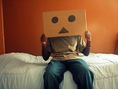 (willycoolpics.) Tags: me face cardboard picnik danbo danboard