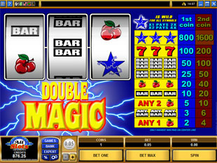 Double Magic slot game online review