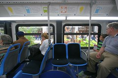 Chicago's Hybrid Buses (stormdog42) Tags: chicago bus illinois cta publictransportation interior strangers masstransit hybrid