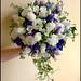 Akito Roses, Freesia, Lisianthus, Blue Delphenium