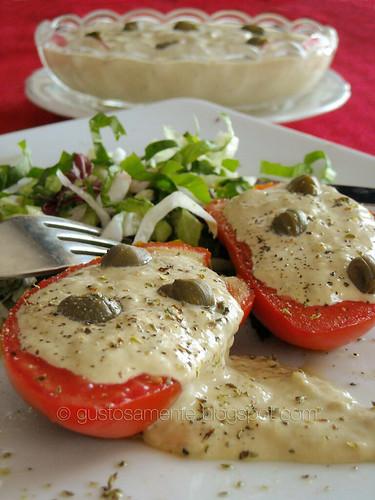 "Pomodori ripieni di salsa ""sardinata""!!!"