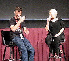 Sharon Gless at aGLIFF by Jenn Brown
