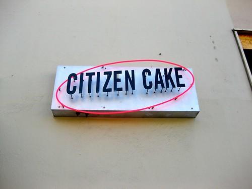 Citizen Cake, San Francisco by you.
