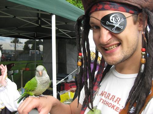Arrrgh, me parrot!