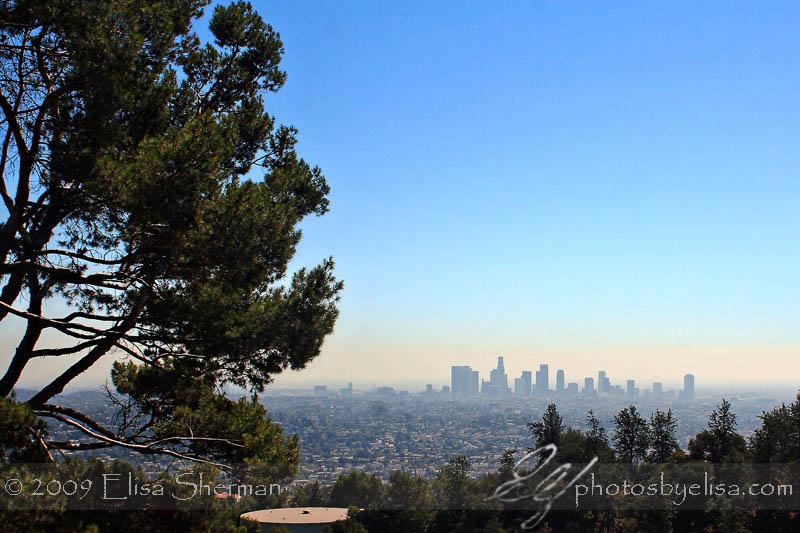 LA from Griffith Park Observatory by Elisa Sherman   photosbyelisa.com