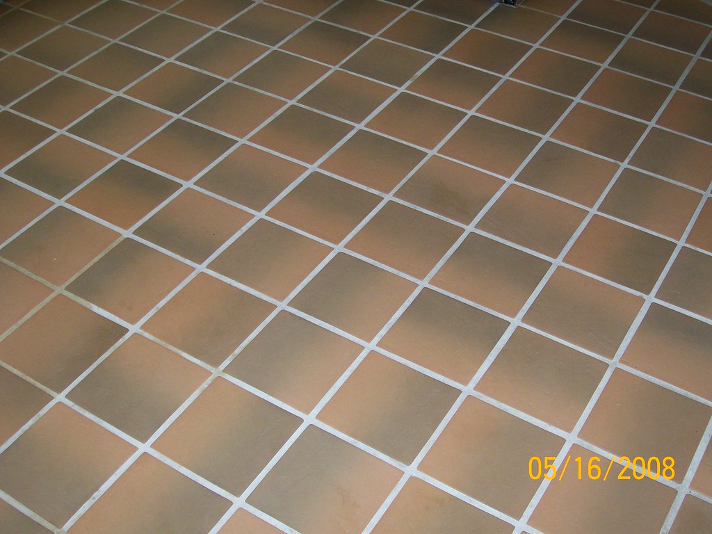kitchen tile grout after picture