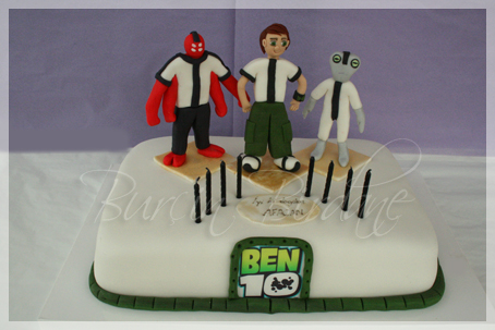 Ben10 Cake Can1